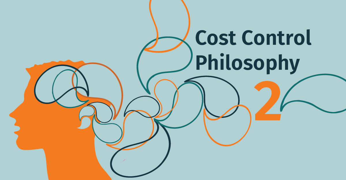 The correct Cost Control Philosophy: Work Breakdown Structures (WBS)