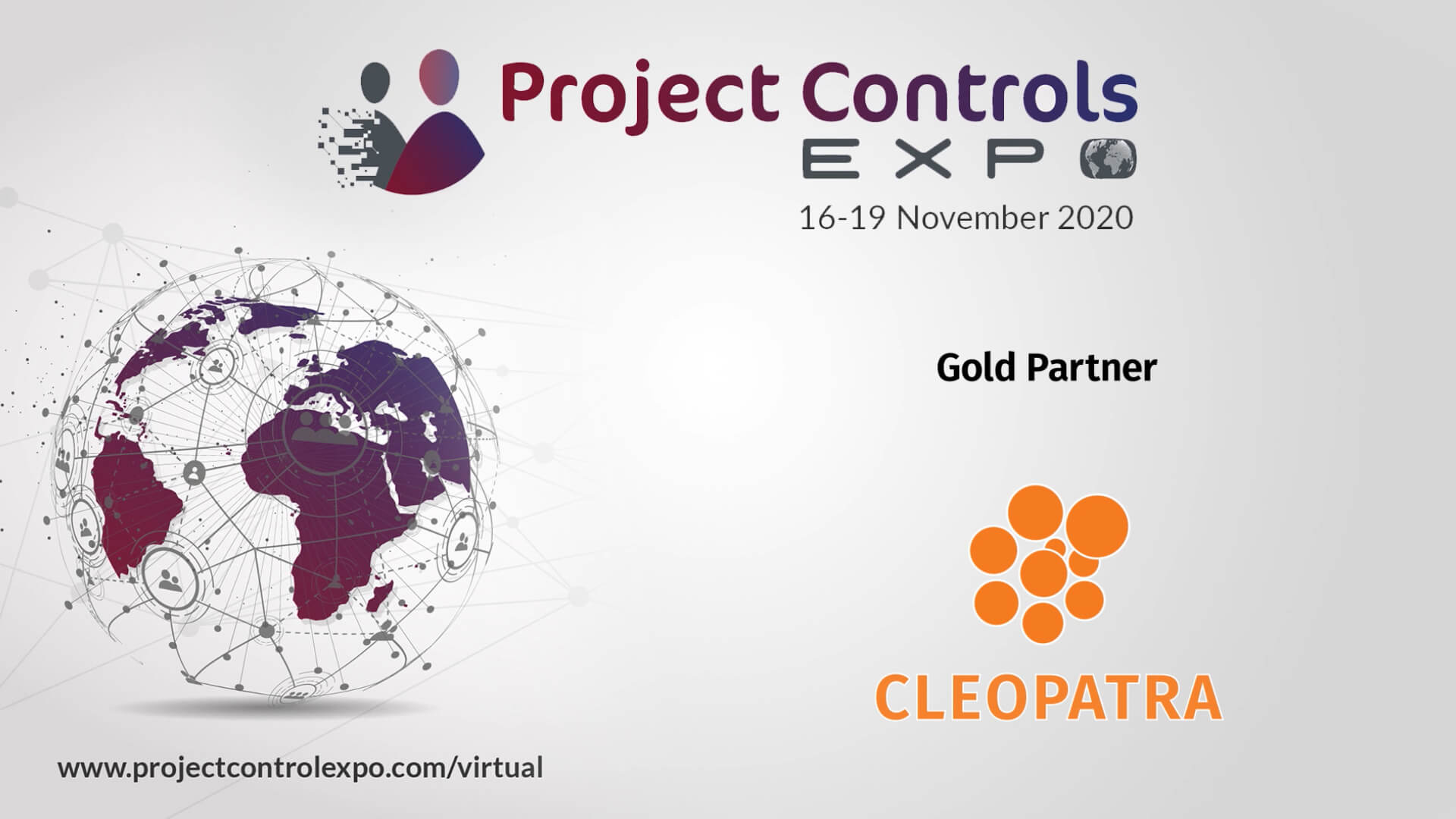 Cleopatra Enterprise at the Virtual Project Controls Expo 2020